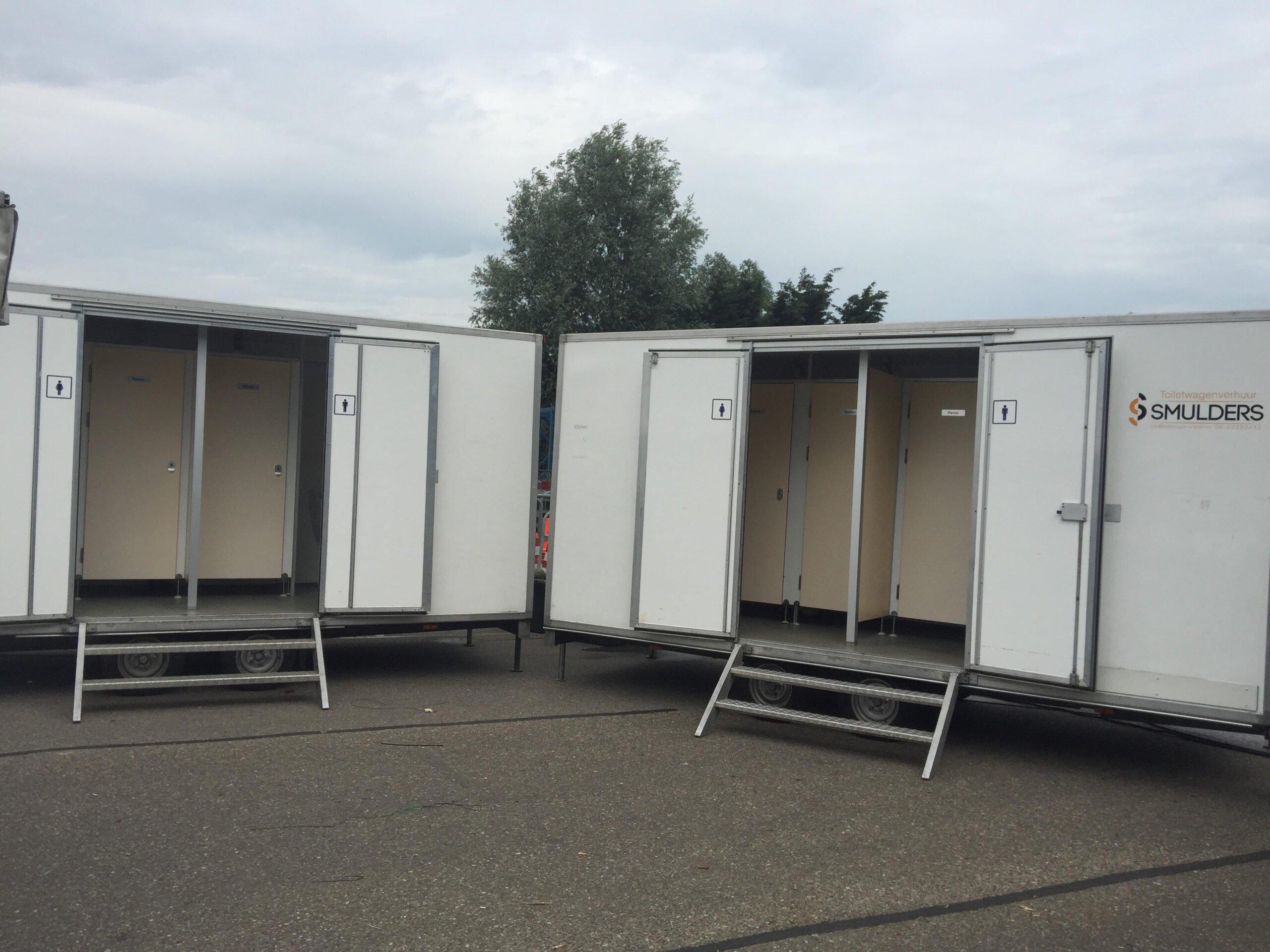 Toiletwagen Verhuur Noord-Brabant