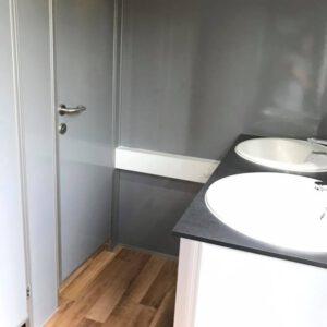 Toiletwagen VIP Hout